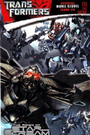 Transformers Movie Sequel Reign of Starscream #5 Cover A (2008) IDW Publishing comic book